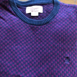 Men's large penguin sweater